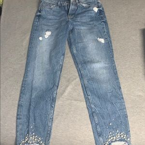 H&M Women's Pearl Jeans